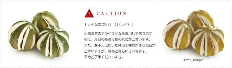 ドライ花材 注意事項 caution