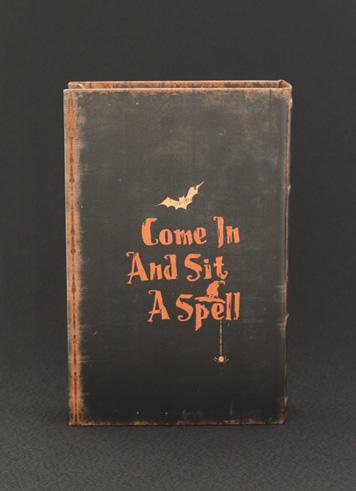 ハロウィン雑貨 ウィッチ ブックケース