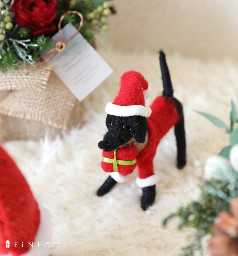 クリスマス雑貨 オーナメント 北欧 かわいい サンタクロース アニマル オブジェ プレゼント ギフト