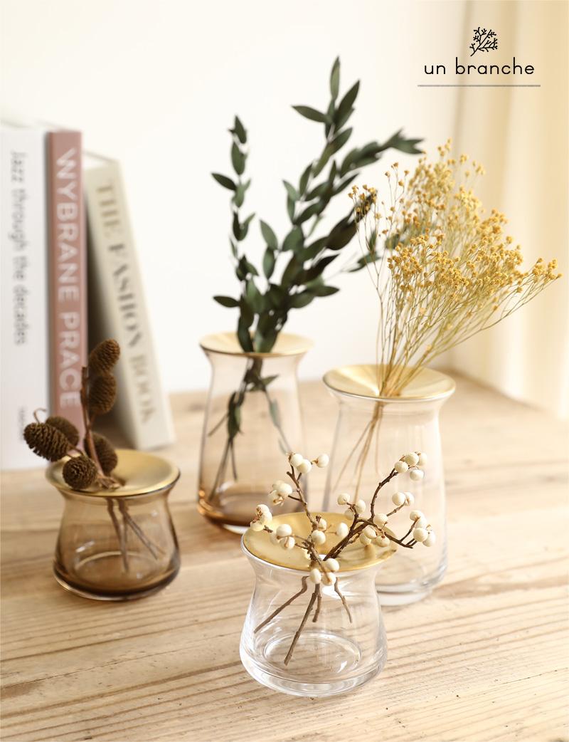 花器 フラワーベース ガラス KINTO ルナ